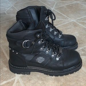 Genuine Harley Davidson Motorcycle Riding Boots
